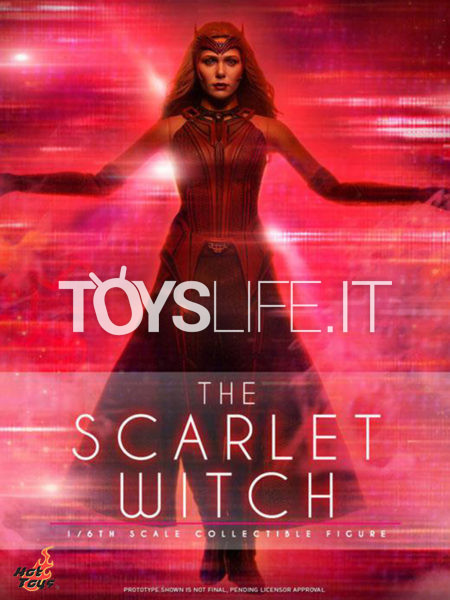 Hot Toys Marvel Wandavision Scarlet Witch 1:6 Figure