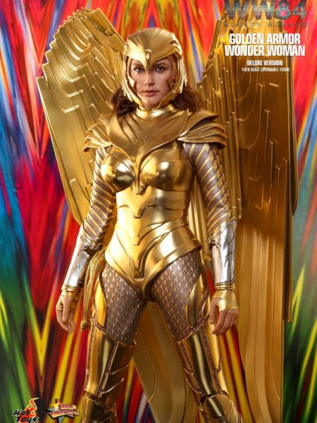 Hot Toys DC Wonder Woman 1984 Wonder Woman Golden Armor Deluxe 1:6 Figure