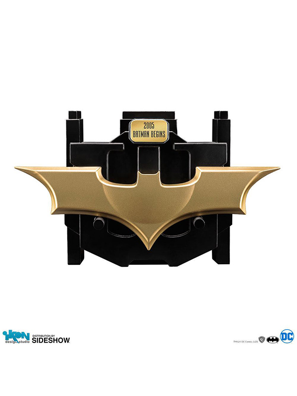 Ikon Studios DC Batman Begins Batman Metal Batarang 1:1 Replica