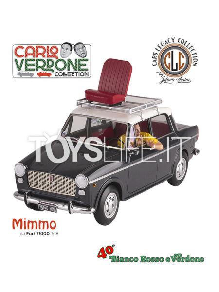 Infinite Statue Bianco Rosso E Verdone Mimmo Su Fiat 1100 1:18 Statue