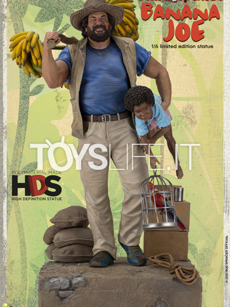 Infinite STatue Old&Rare Bud Spencer as Banana Joe 1:6 Statue