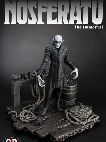 Infinite Statue Old & Rare Nosferatu Statue