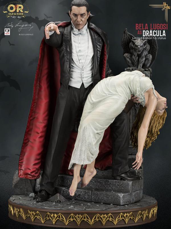 Infinite Statue Old&Rare Dracula Bela Lugosi 1:6 Statue