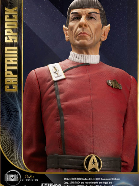 Infinite Statue Star Trek II The Wrath of Khan Leonard Nimoy as Captain Spock 1:3 Statue