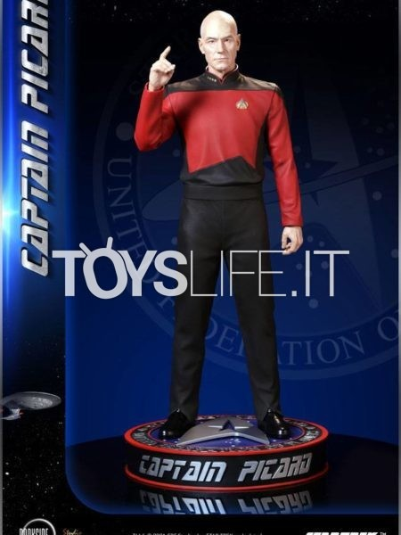 Infinite Statue/ Darkside Collectibles Star Trel Captain Picard 1:3 Museum Scale Statue
