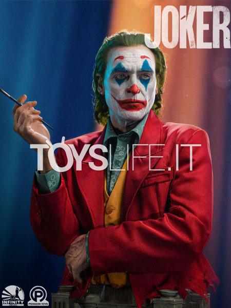 Infinity Studio Joker Arthur Fleck Joaquin Phoenix 1:1 Lifesize Bust