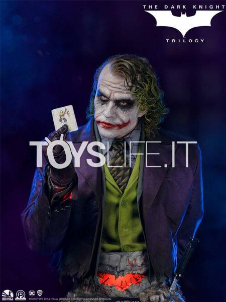 Infinity Studio DC Batman The Dark Knight Joker Heath Leadger 1:1 Lifesize Bust