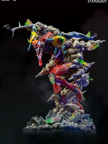 Infinity Studio Neon Genesis Evangelion Statue EVA-02 Beast Mode Statue