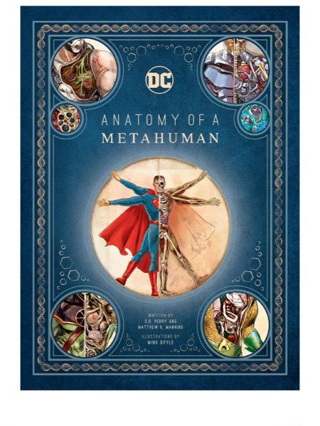 Insight Editions DC Comics Art Book Anatomy of a Metahuman