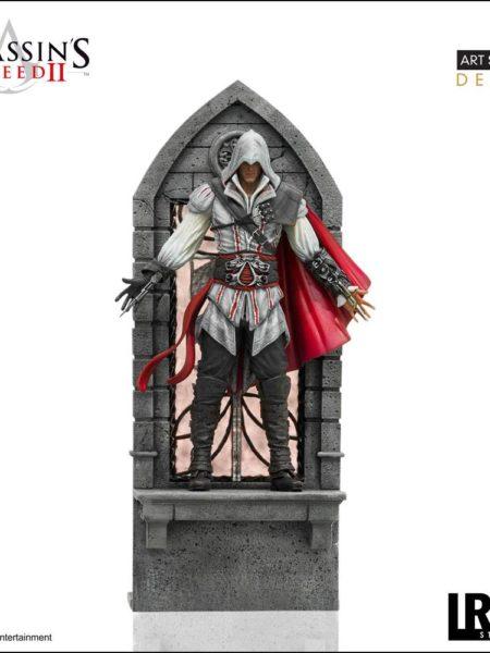 Iron Studios Assassin's Creed II Ezio Auditore 1/10 Deluxe Statue