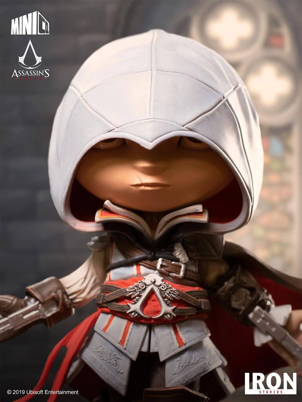 Iron Studios Assassin's Creed Mini Co Ezio Auditore Pvc Statue