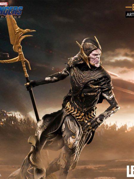 Iron Studios Avengers Endgame Corvus Glaive Black Order 1:10 Statue
