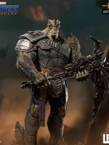 Iron Studios Avengers Endgame Cull Obsidian Black Order 1:10 Statue