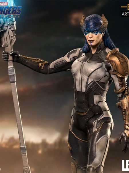 Iron Studios Avengers Endgame Proxima Midnight Black Order 1:10 Statue