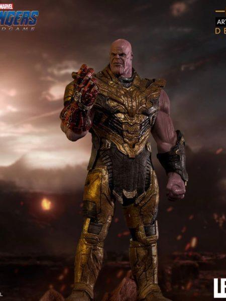 Iron Studios Marvel Avengers Endgame Black Order Thanos Deluxe 1:10 Statue