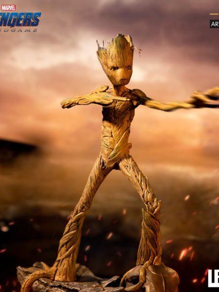 Iron Studios Marvel Avengers Endgame Groot 1:10 Statue