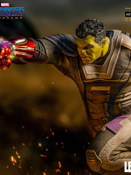 Iron Studios Marvel Avengers Endgame Hulk 1:10 Deluxe Statue