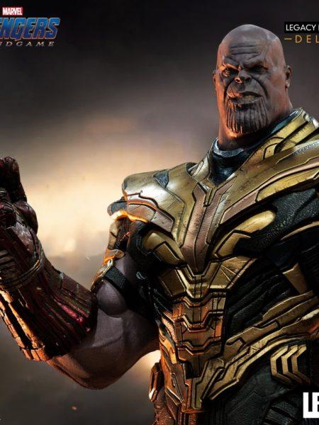 Iron Studios Marvel Avengers Endgame Thanos Deluxe 1:4 Scale Statue