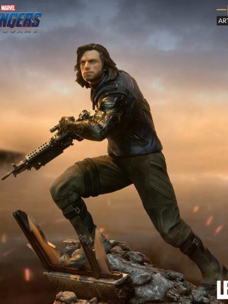 Iron Studios Marvel Avengers Endgame Winter Soldier 1:10 Statue