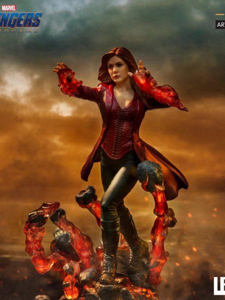 Iron Studios Marvel Avengers Endgame Scarlet Witch 1:10 Statue