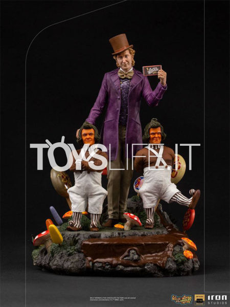 Iron Studios Willy Wonka and the Chocolate Factory Willy Wonka 1:10 Deluxe Statue