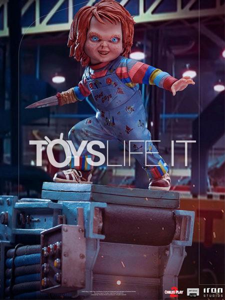 Iron Studios Child's Play 2 Chucky 1:10 Statue
