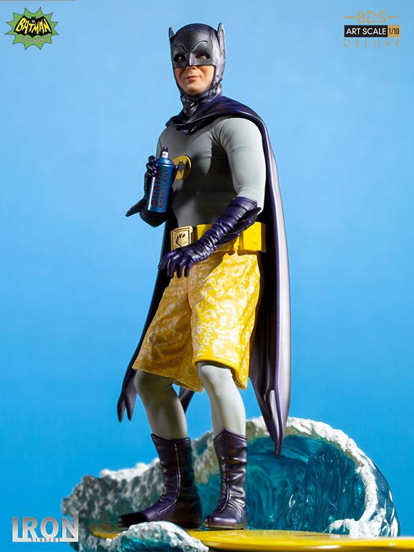 Iron Studios DC Batman 1966 Batman 1:10 Deluxe Statue