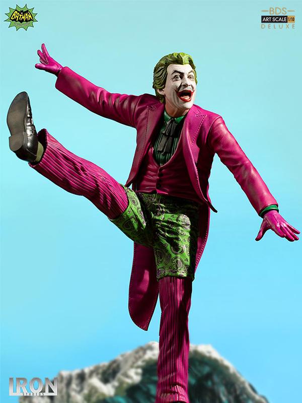 Iron Studios DC Batman 1966 Joker 1:10 Deluxe Statue