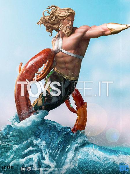 Iron Studios DC Comics Aquaman 1:10 Deluxe Statue