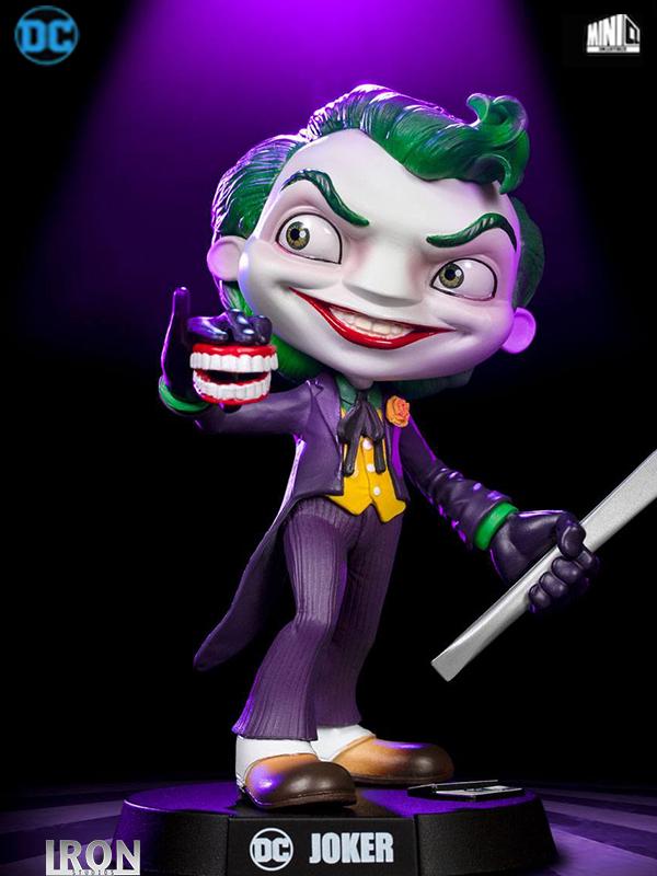 Iron Studios DC Comics Joker Mini Co Pvc Statue
