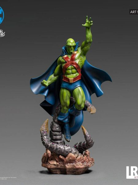 Iron Studios DC Comics Martian Manhunter 1:10 Statue By Ivan Reis