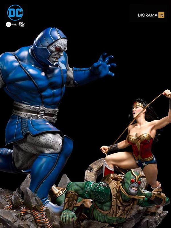 Iron Studios DC Comics Wonder Woman Vs Darkseid 1:6 Diorama by Ivan Reis