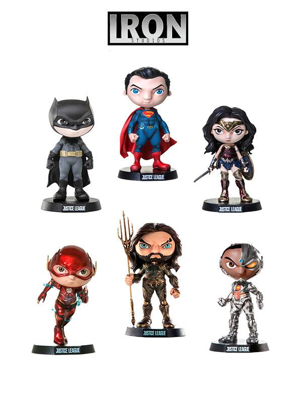 Iron Studios DC Justice League Mini Co Figures