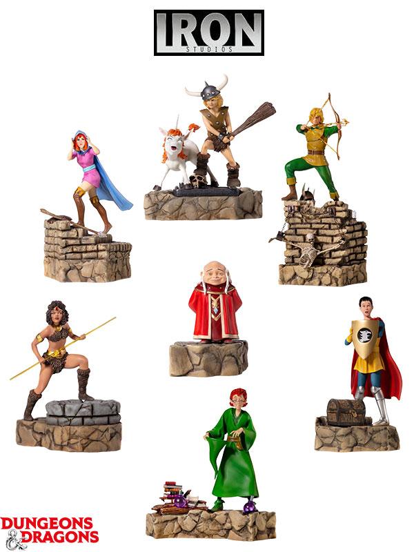 Iron Studios Dungeons And Dragons 1:10 Diorama