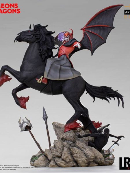 Iron Studios Dungeons & Dragons Venger With Nightmare And Shadow Demon 1:10 Deluxe Statue