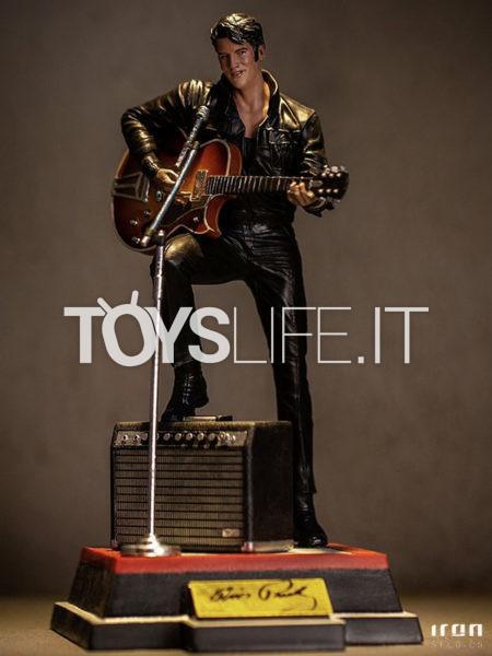 Iron Studios Elvis Presley 1968 Comeback Special 1:10 Deluxe Statue