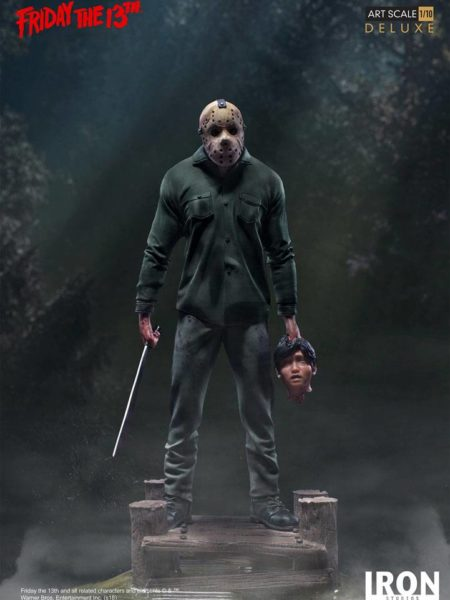 Iron Studios Friday the 13th Jason Deluxe 1:10 Statue