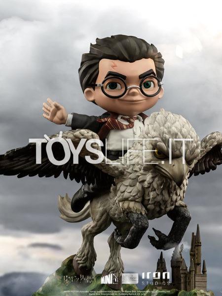 Iron Studios Harry Potter Harry And Buckbeak MiniCo Pvc Figure