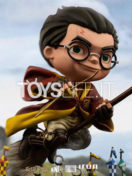 Iron Studios Harry Potter Harry Quidditch Match MiniCo Pvc Figure