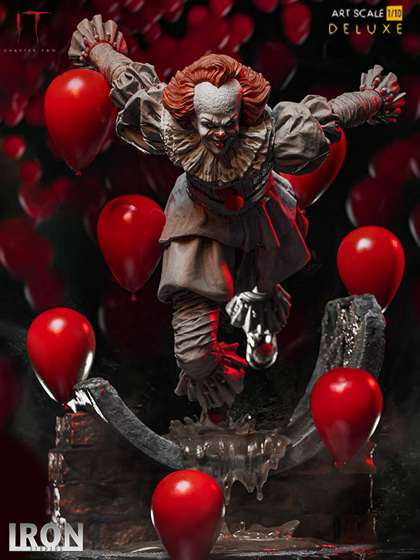 Iron Studios 2017 IT Chapter 2 Pennywise 1:10 Deluxe Statue