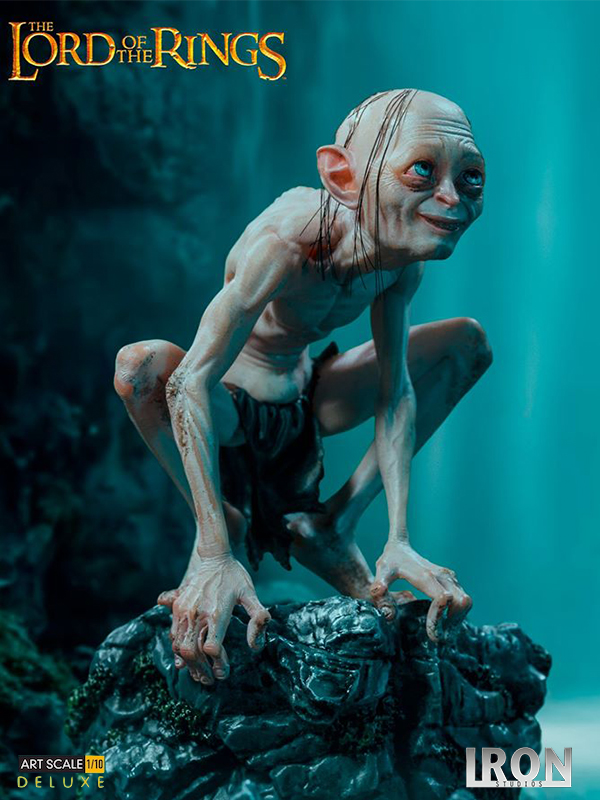 Iron Studios The Lord Of The Rings Gollum Deluxe 1:10 Statue
