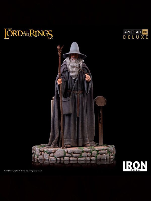 Iron studios Lord Of The Rings Gandalf 1:10 Statue