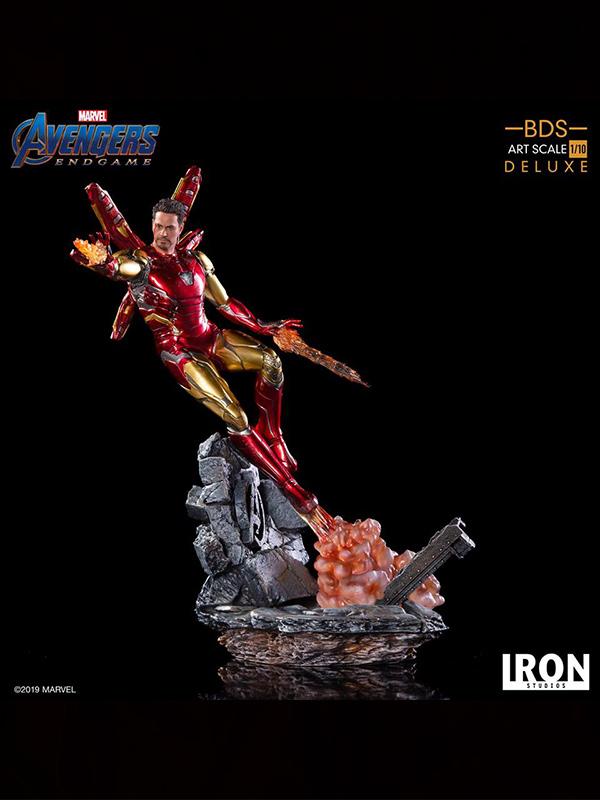 Iron Studios Marvel Avengers Endgame Ironman LXXXV 1:10 Deluxe Statue