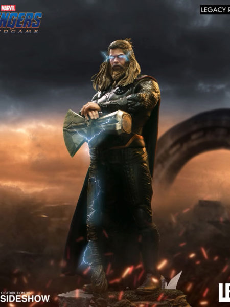 Iron Studios Marvel Avengers Endgame Thor 1:4 Scale Statue