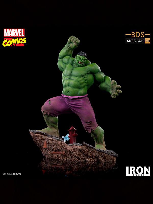 Iron Studios Marvel Comics Hulk 1:10 Statue