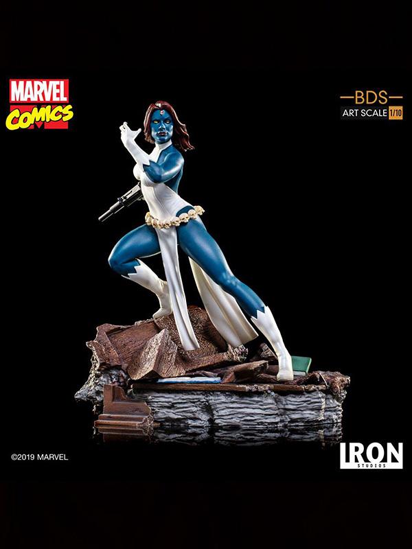 Iron Studios Marvel Comics X-Men Mystique 1:10 Statue