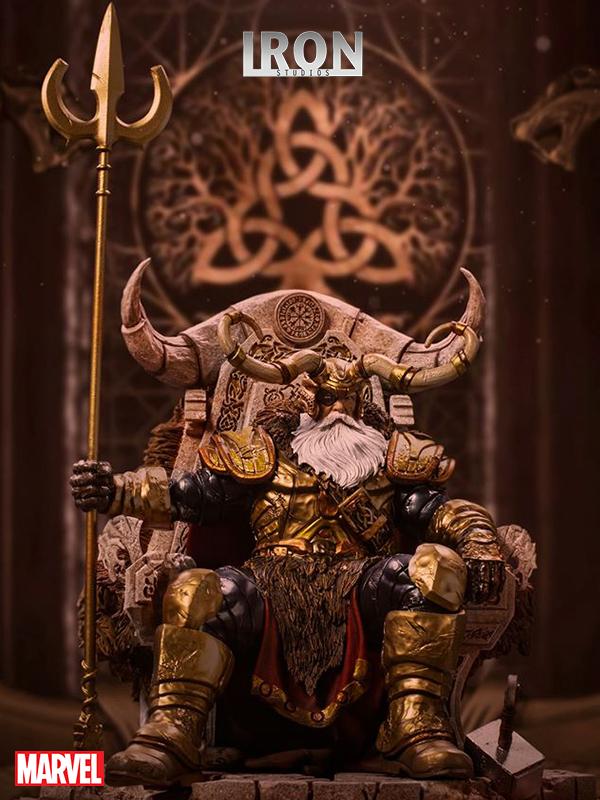 Iron Studios Marvel Comics Odin 1:10 Deluxe Statue