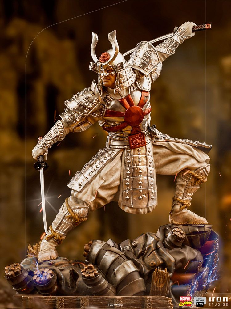 Iron Studios Marvel Comics Silver Samurai 1:10 Statue