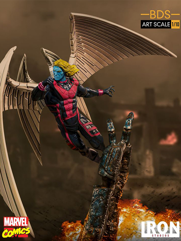 Iron Studios Marvel X-Men Archangel 1:10 Statue