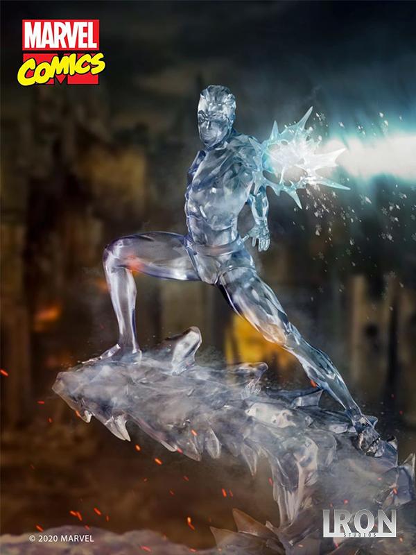Iron Studios Marvel X-Men Iceman 1:10 Statue